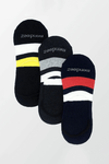 Pack of 3 - No Show Socks - 3 Colors - MENDEEZ (4397392199789)