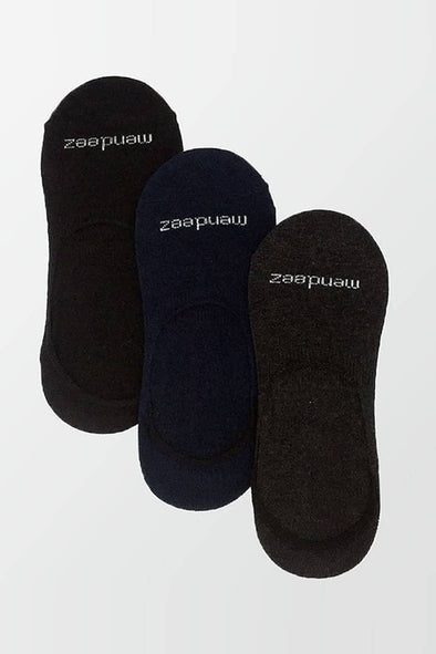 Pack of 3 - No Show Socks - 3 Colors