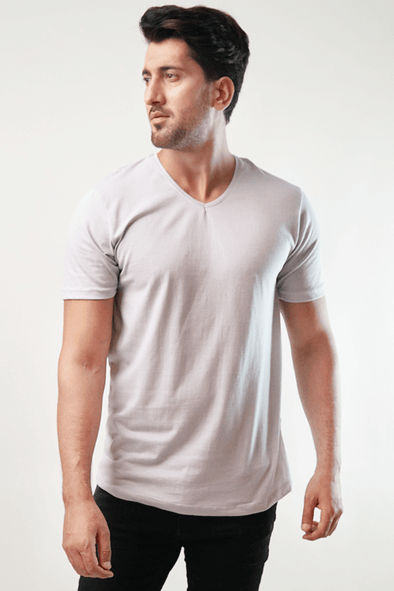 Zap V-Neck Shirt - Lavender (4789186003053)