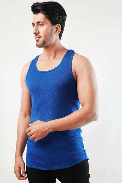 Scuttle Tank Top - Royal Blue - MENDEEZ (4791109288045)