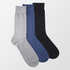 Pack of 3 - Crew Socks - 3 Colors