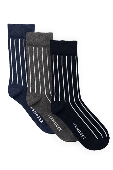 Pack of 3 – Printed Crew Socks