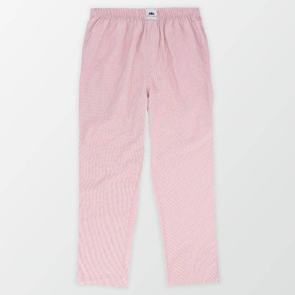 Woven Pajama Pants - Light Pink - MENDEEZ
