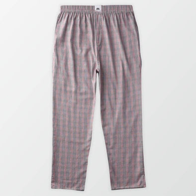 Woven Pajama Pants - Purple Check - MENDEEZ