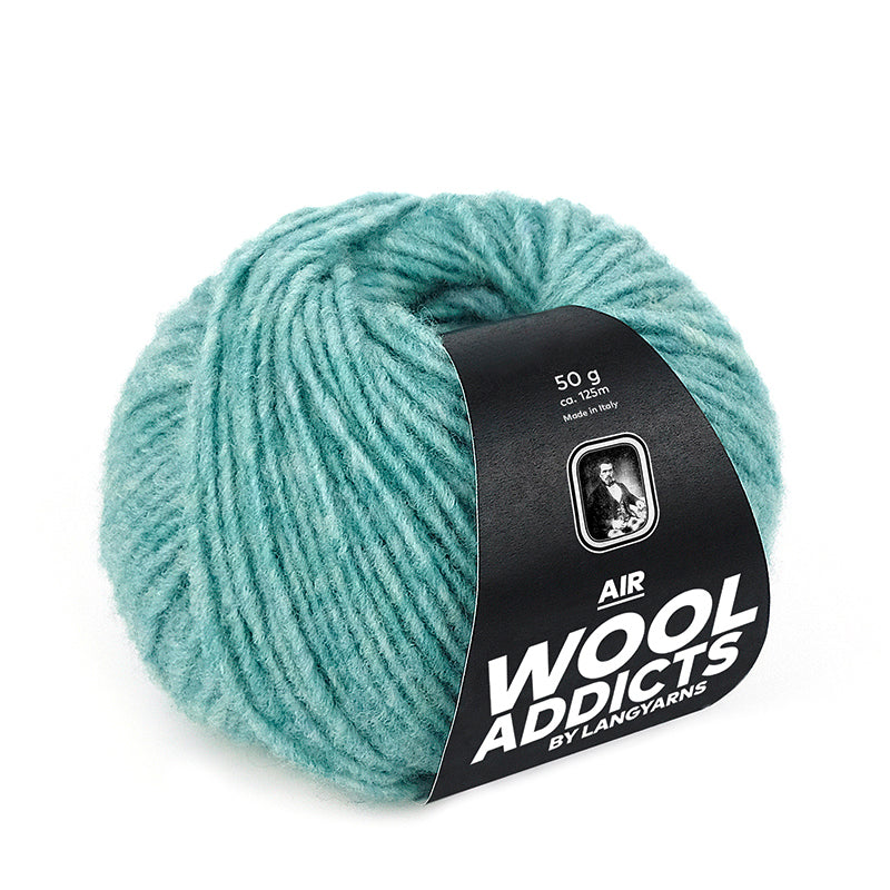 Wool Addicts Air by Lang Yarns - Virgin Merino Wool, Nylon Anti-Felting-Finished wool blend