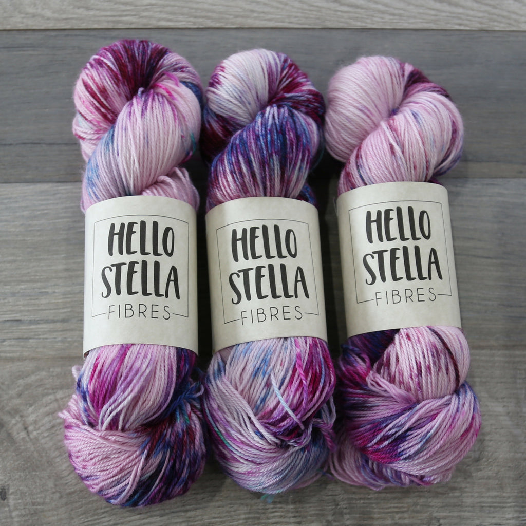 Hello Stella Basic Stella Fingering - Superwash Merino, Nylon blend made in Canada