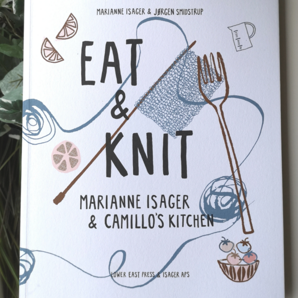 Eat & Knit Knitting Book by Isager