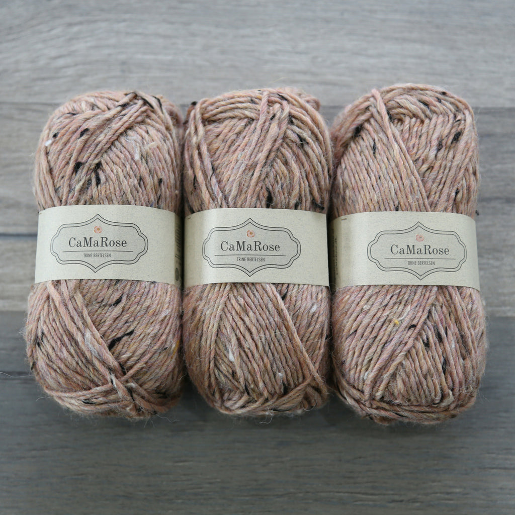 CaMaRose Lama Tweed Yarn - Lama, Pure New Wool, Viscose blend Made in Peru