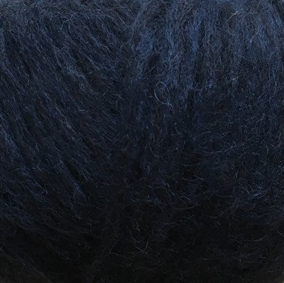 CaMaRose Lama SNEFNUG Aran Blue Yarn - Alpaca, Cotton, Extra Fine Merino wool blend Made in Peru
