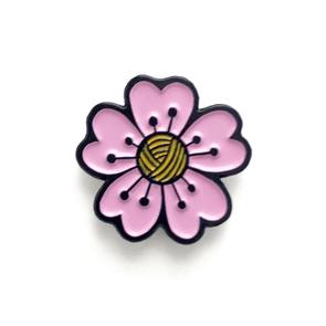 Shelli Can Enamel  Cherry Blossom Pins in Toronto, Online