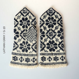 Knit Like A Latvian Knitting Book mittens