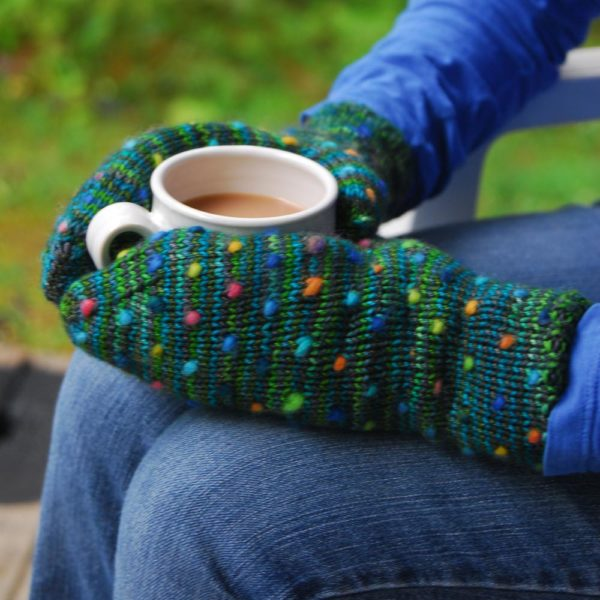 Handmaiden Luxe Thrum Mitts