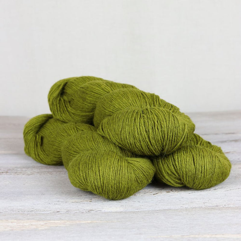 The Fiber Co. - Cumbria Fingering Oive green Yarns