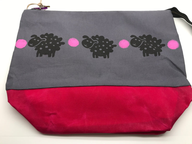 Crista Jaeckel - Large Zipper Bags for Knitting Projects