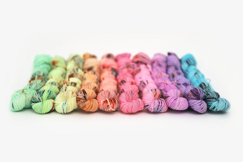 Hue Loco Color Riot Mini Set Merino Sock