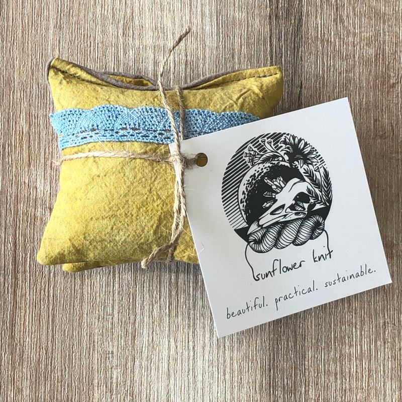 Sunflower Knit - Lavender Sachet