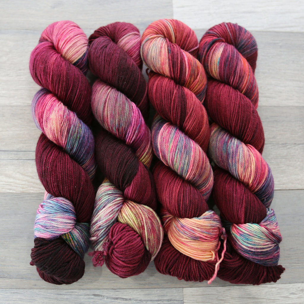 Primrose Yarn Co. Rose Sport from 100% Superwash Merino wool in USA
