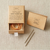 Leather and Cord Stitch Holder Kit by Cocoknits