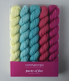 SweetGeorgia: Party of Five - Mini Skein Sets
