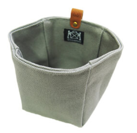 Waxed Canvas Accessory Pouch by Cohana