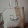 Biches & Bûches Tote Bag - French made from environmentally friendly cotton