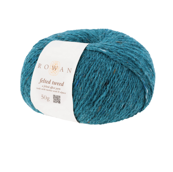 Rowan - Felted Tweed Watery Blue Yarn
