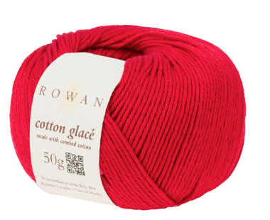 Rowan Cotton Glacé blood orange Yarn