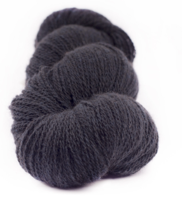 Myak Baby Yak Organic Midnight Blue Lace Yarn