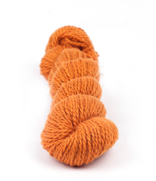 Myak - Tibetan Cashmere Pop Colours Fingering-Lace Orange Yarn