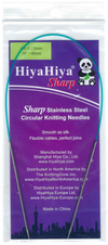 HiyaHiya Sharp: Stainless Steel Circular Knitting Needles