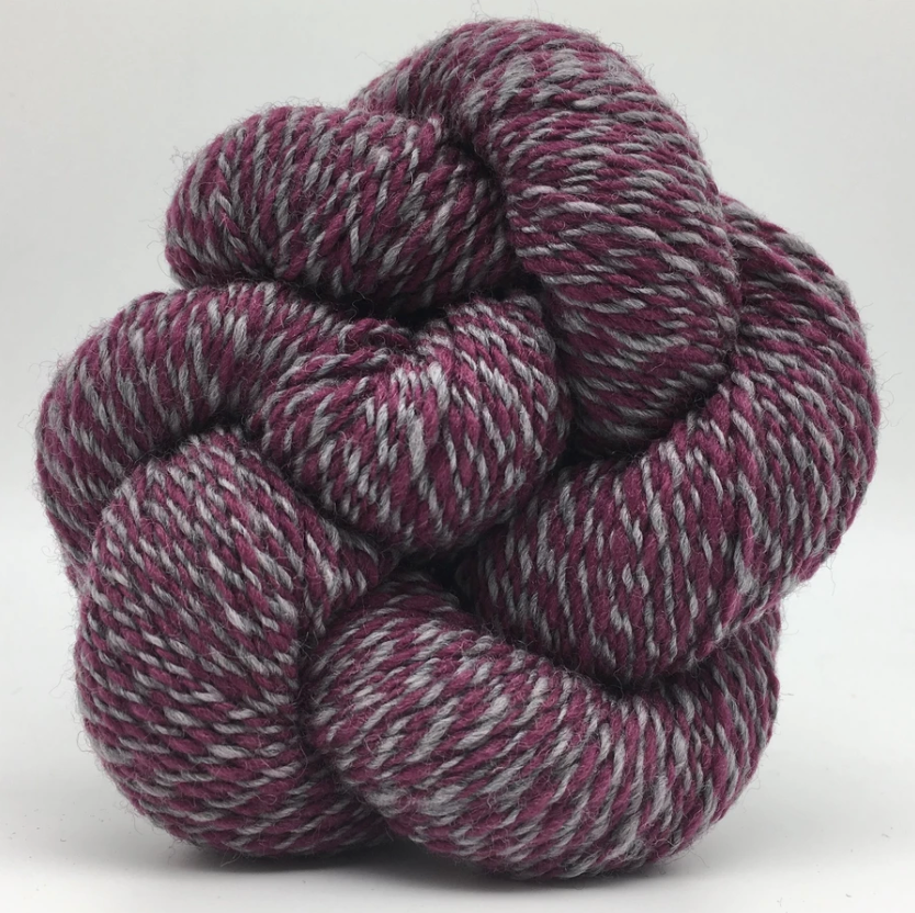 Spincycle Yarns Versus 100% Fine Wool Blend yarn
