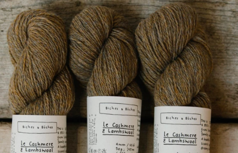Biches & Bûches - Le Cashmere & Lambswool brown