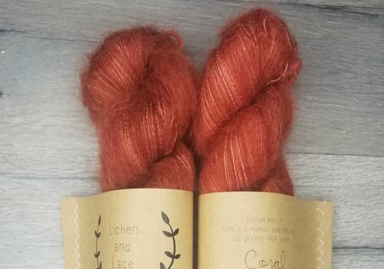 Coral Mohair