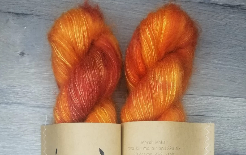 Day Lily Mohair