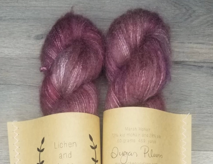 Sugar Plum Mohair