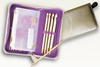 Interchangeable Bamboo Tunisian Crochet Hook Set
