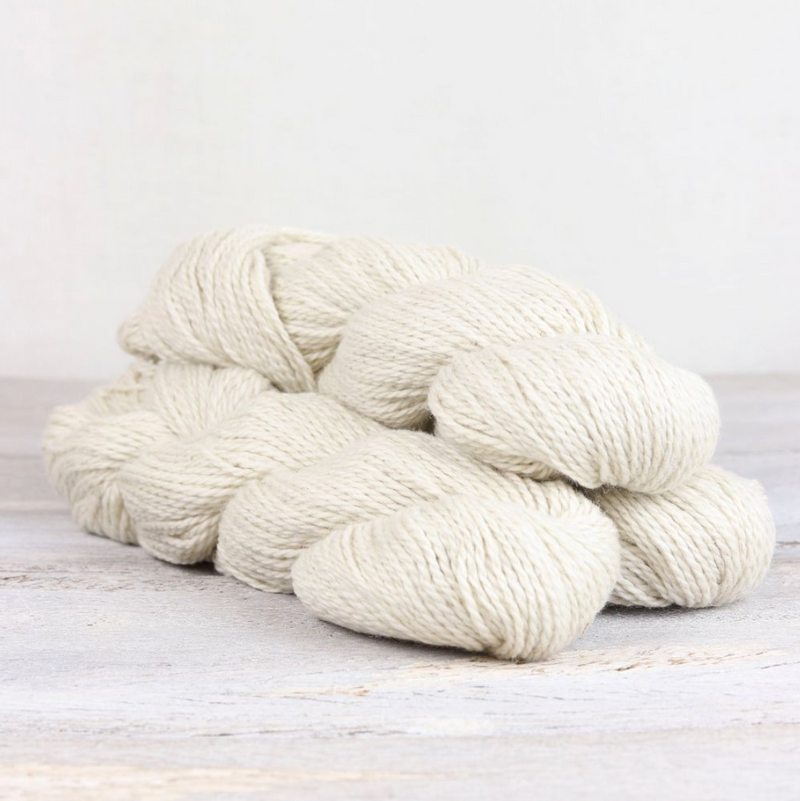 The Fibre Co. - Luma DK White Knitting Yarn