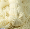 Dyed by Delz Merino Aran Superwash 100% Merino Wool white yarn Toronto