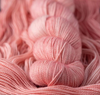 Dyed by Delz Merino Aran Superwash 100% Merino pink yarn