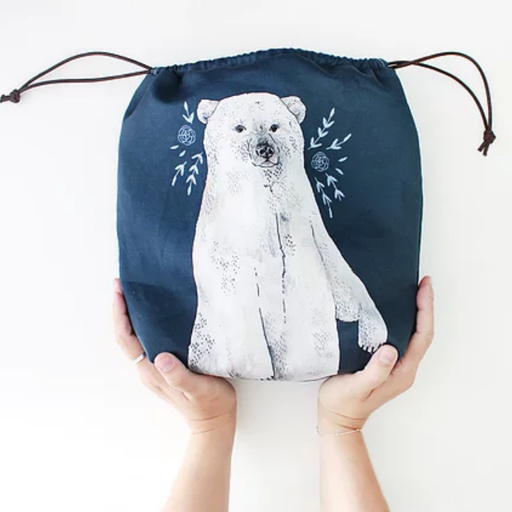 The Blue Rabbit House Project Bag