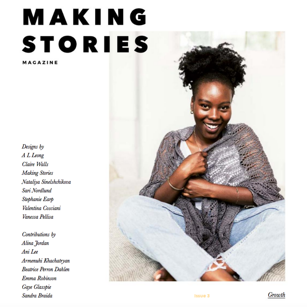 Making Stories Knitting Magazine: Issue 3