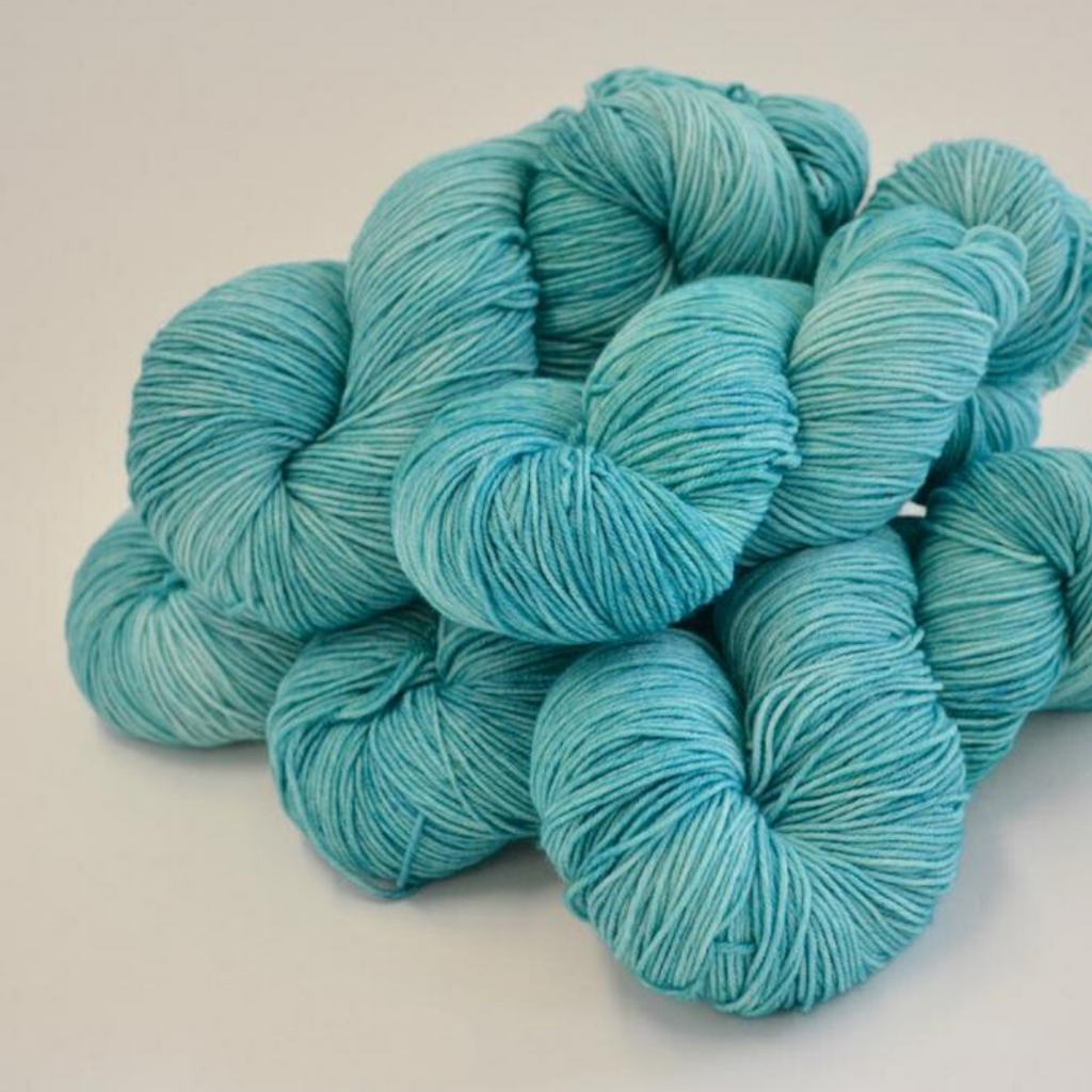 Riverside Studio - Super Sock blue Fingering Yarn