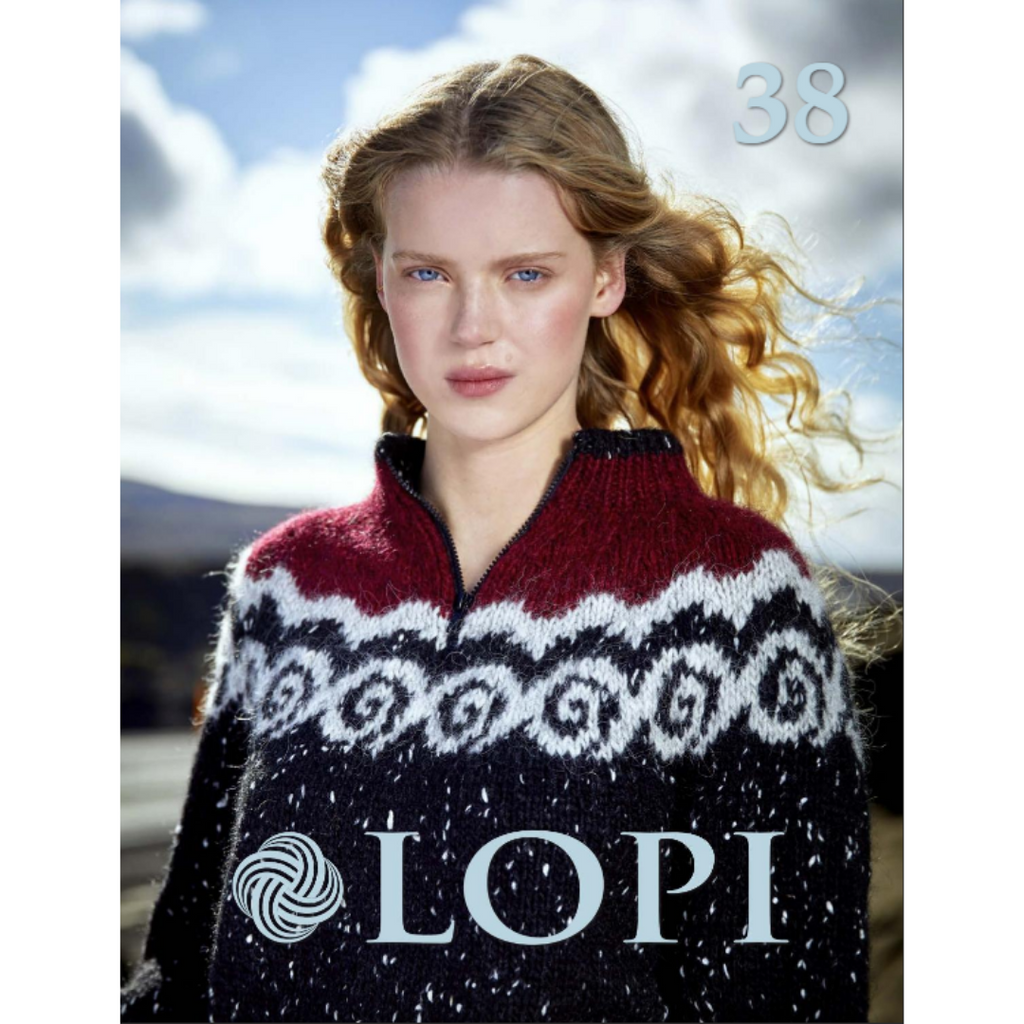 Lopi Knitting Pattern Book [38] - Available Online & in Toronto Canada