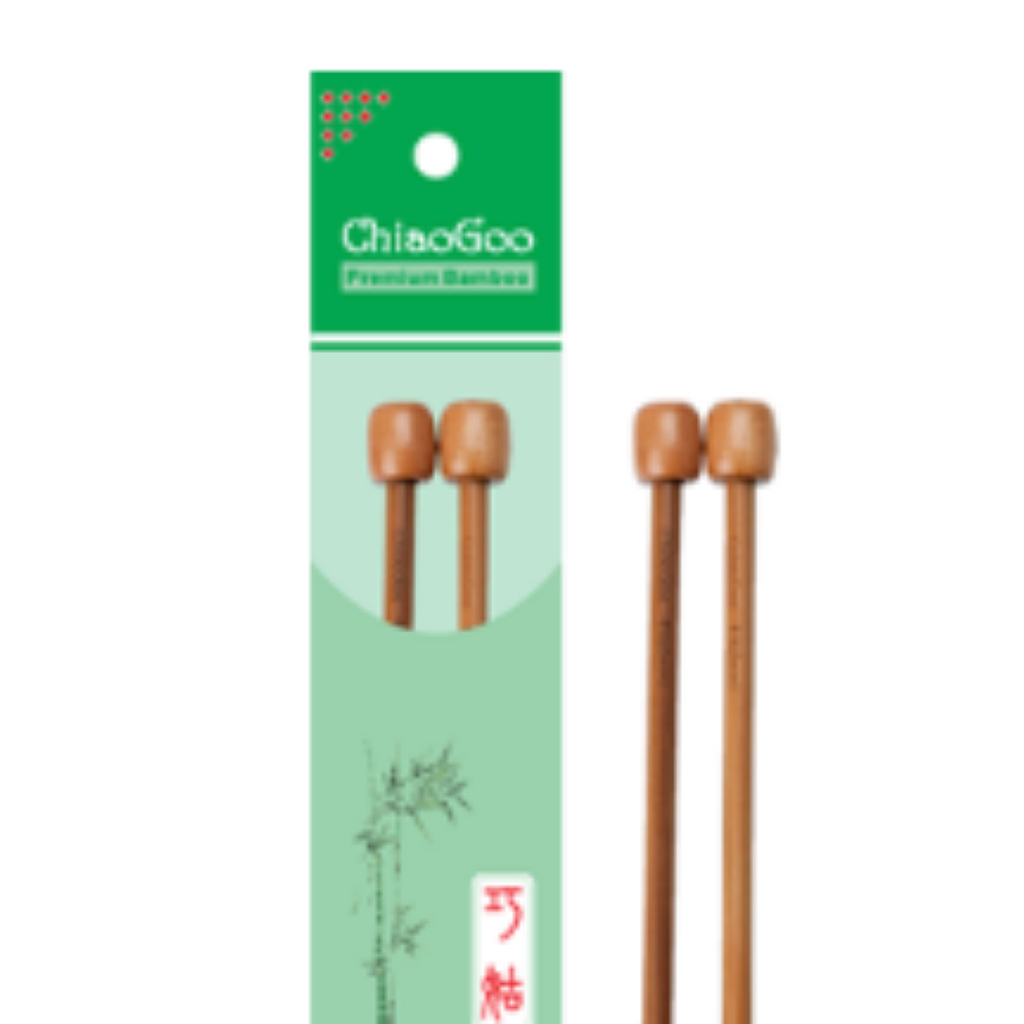 ChiaoGoo Bamboo Single Point Needles