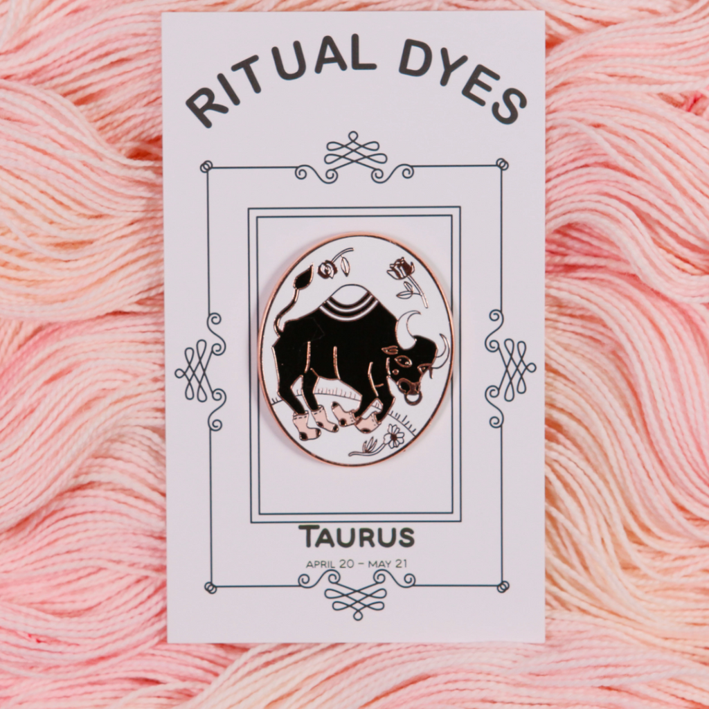 Ritual Dyes Zodiac Collection Enamel Pins
