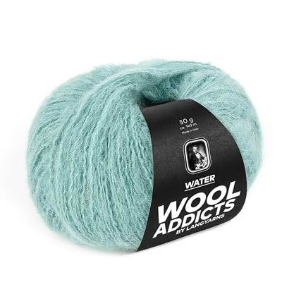 Wool Addicts Water by Lang Yarns - made in Italy with 100% Alpaca wool