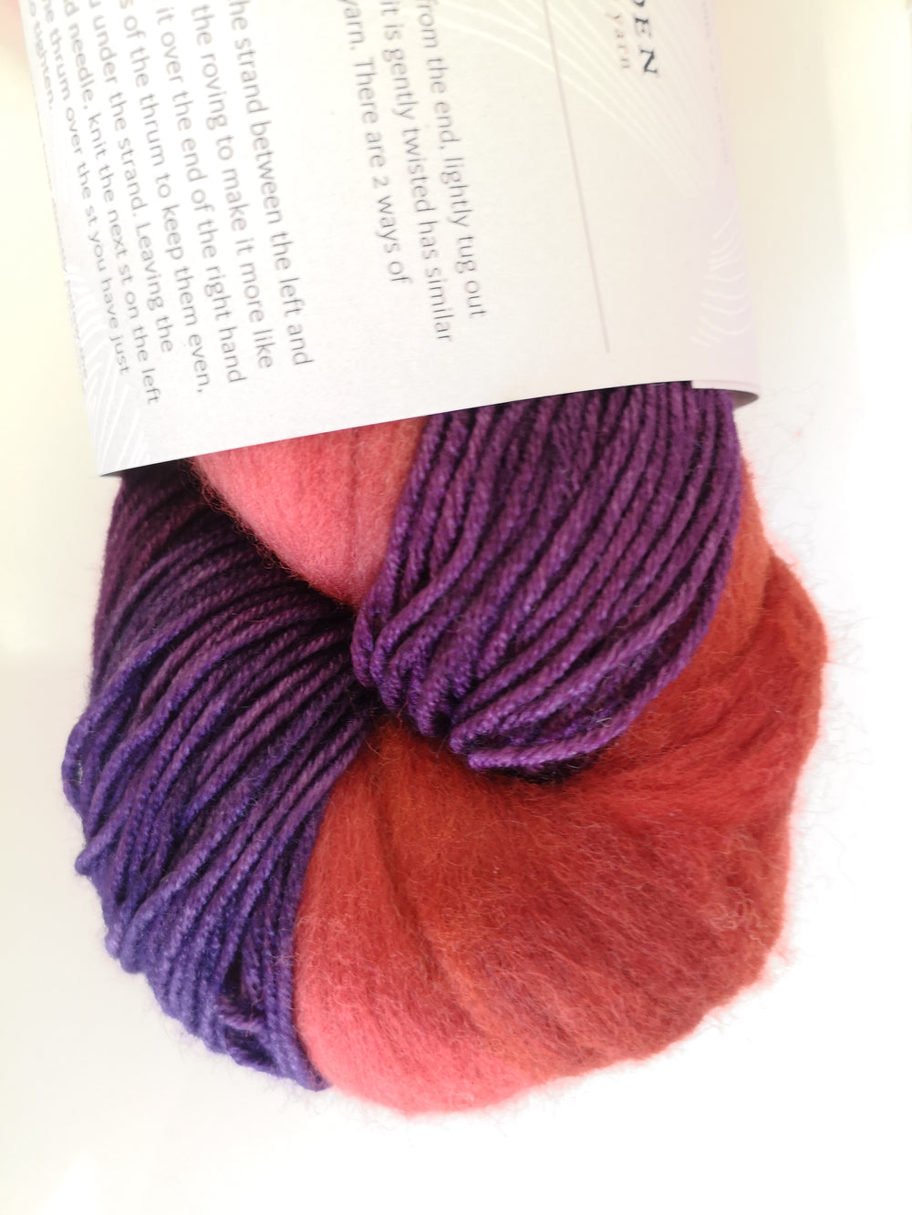 Amethyst (Red Roving)