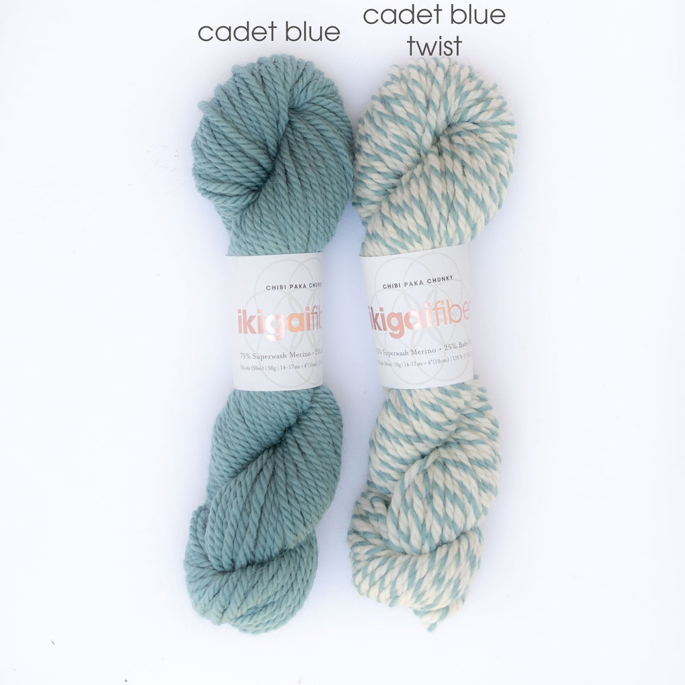 Cadet Blue Twist