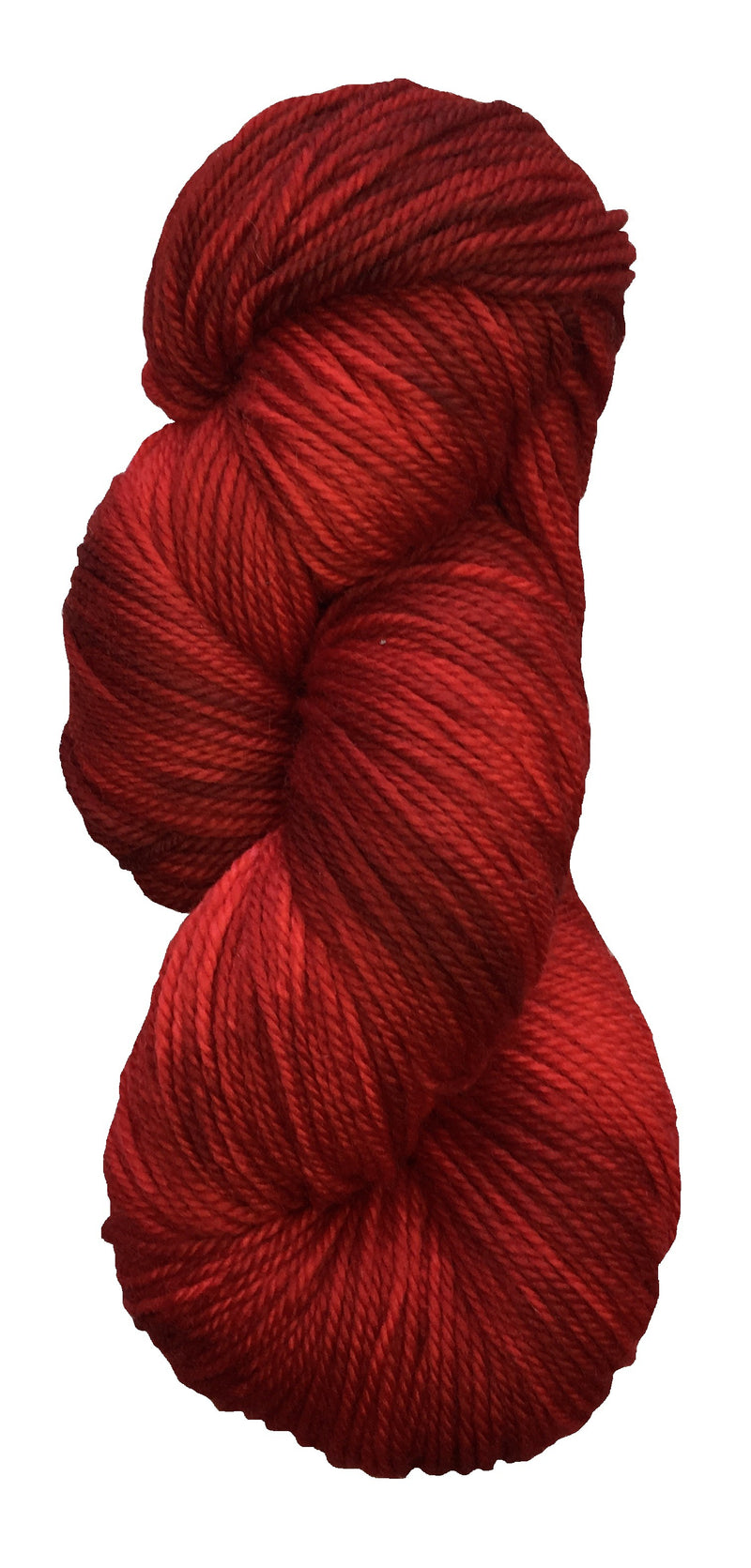 Sugar Bush Festivity DK ruby red yarn