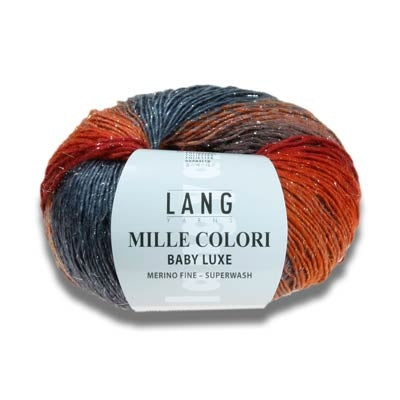 Lang Yarns - Mille Colori Baby Luxe Fingering Yarn
